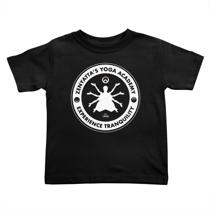 Zenyatta's Yoga Academy Kids Toddler T-Shirt by Positivitees