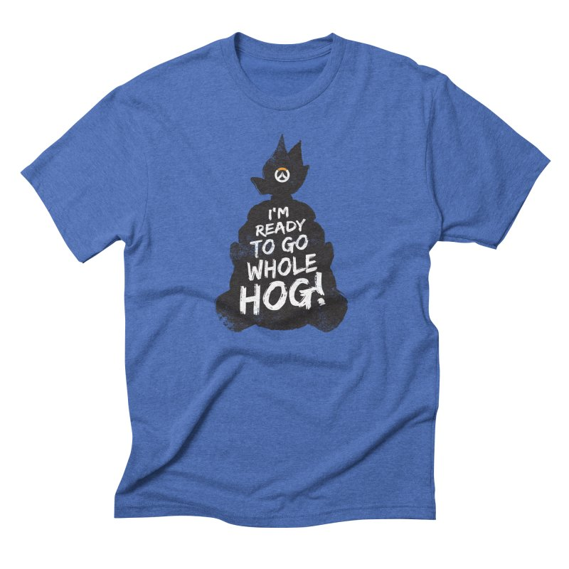 I'm ready to go whole hog! Men's Triblend T-Shirt by Positivitees
