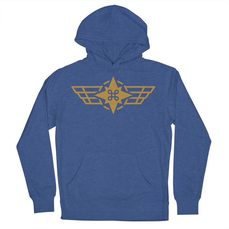 Star Command Men's Pullover Hoody by Positivitees