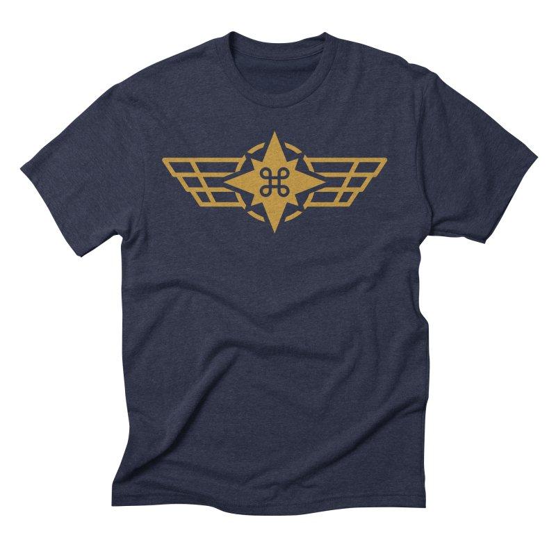 Star Command Men's Triblend T-Shirt by Positivitees
