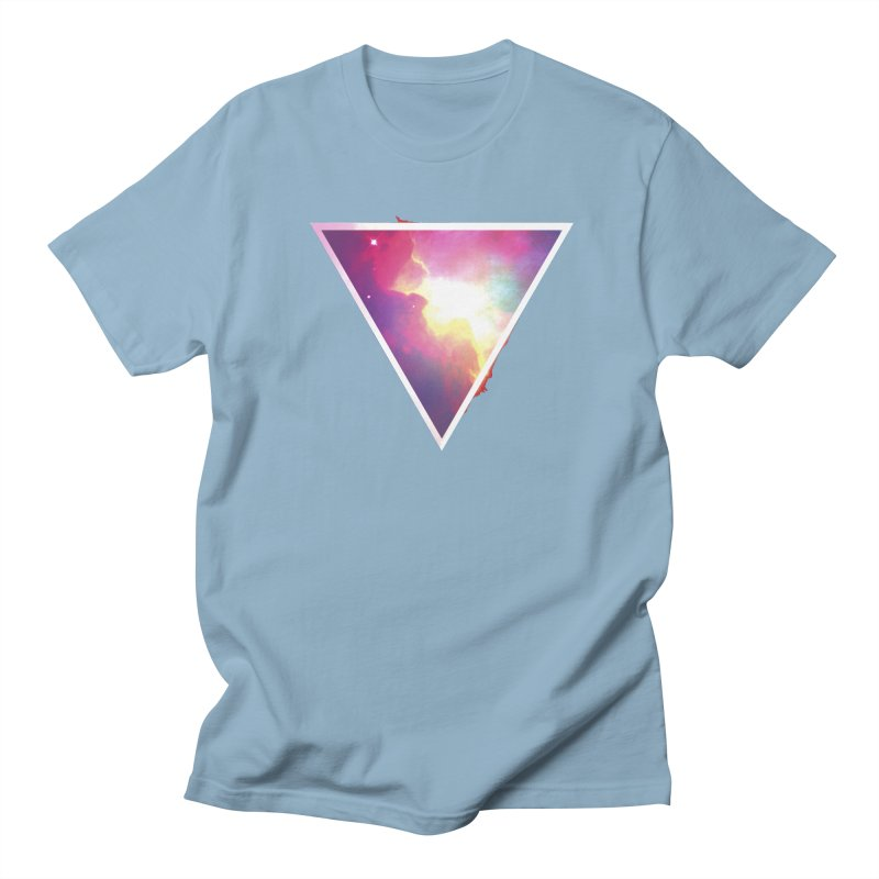 Nebula Triangle Women's Unisex T-Shirt by Postlopez