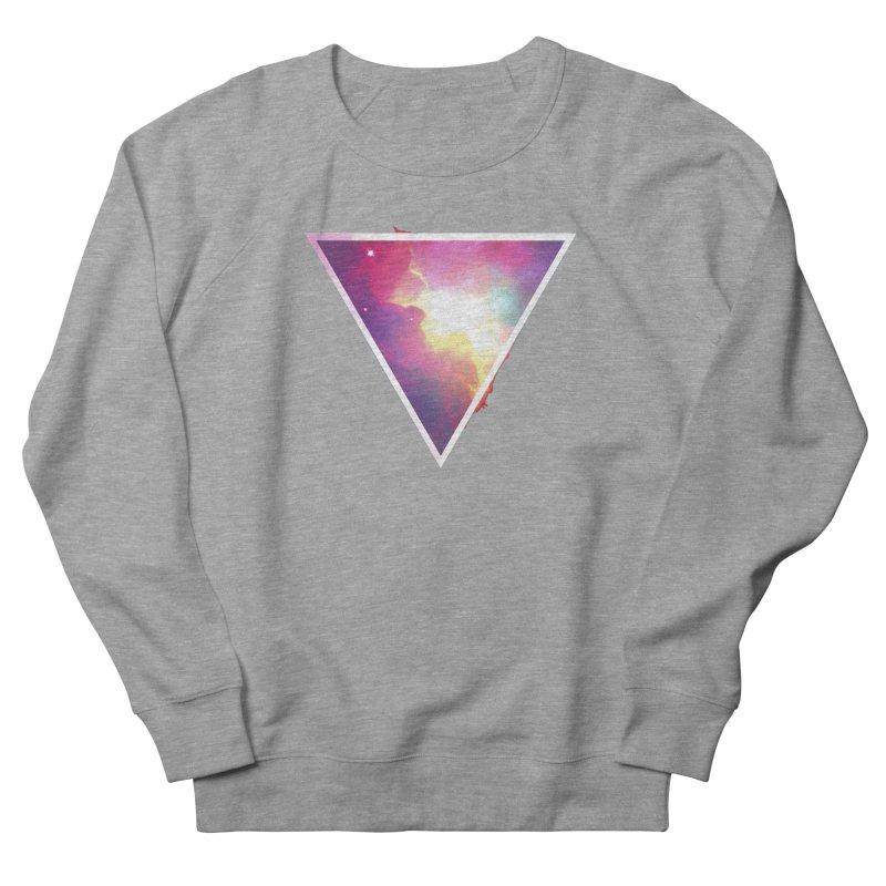 Nebula Triangle Men's Sweatshirt by Postlopez