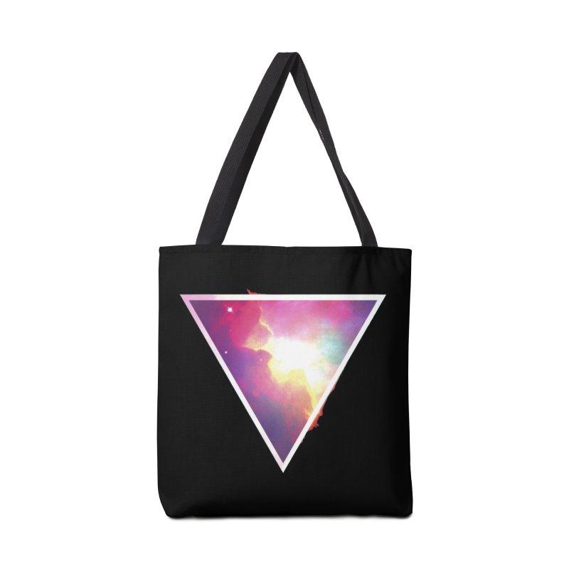 Nebula Triangle Accessories Bag by Postlopez