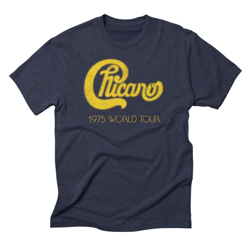 Chicano: World Tour 1975 Men's Triblend T-Shirt by Postlopez