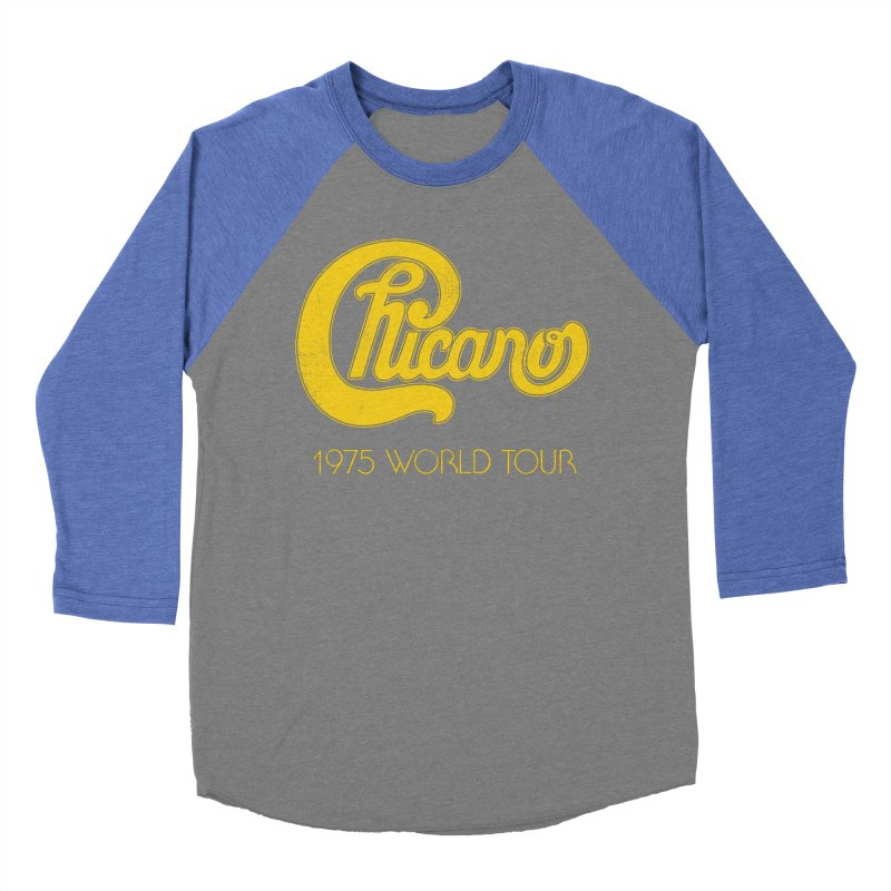 Chicano: World Tour 1975 Women's Baseball Triblend T-Shirt by Postlopez