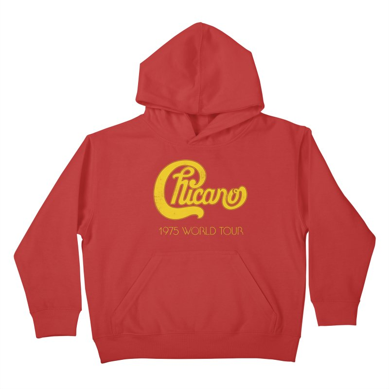 Chicano: World Tour 1975 Kids Pullover Hoody by Postlopez