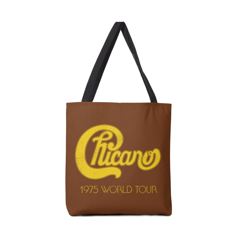 Chicano: World Tour 1975 Accessories Bag by Postlopez