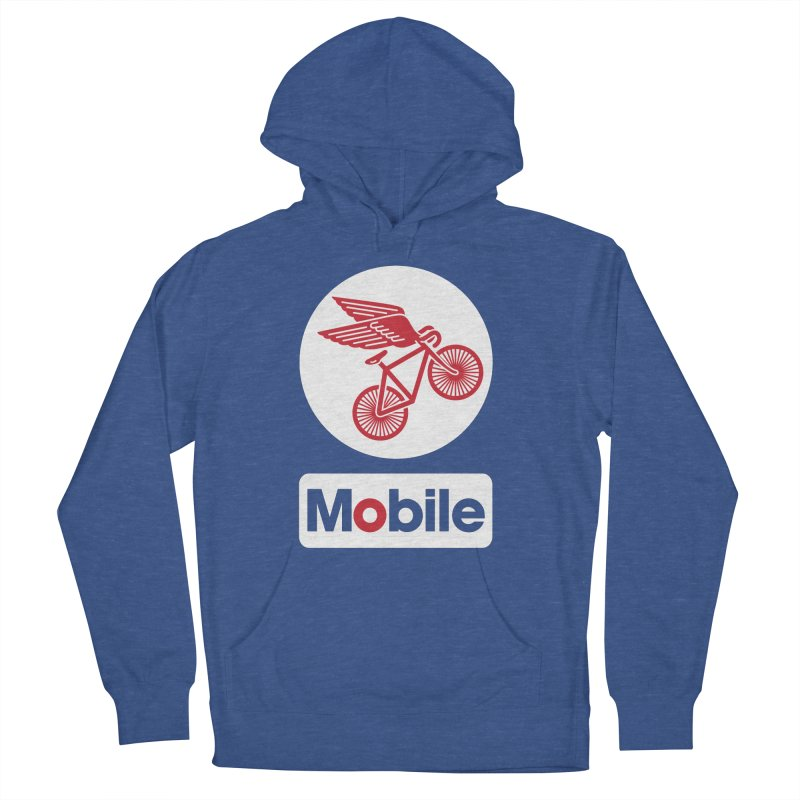 Mobile Women's Pullover Hoody by Postlopez