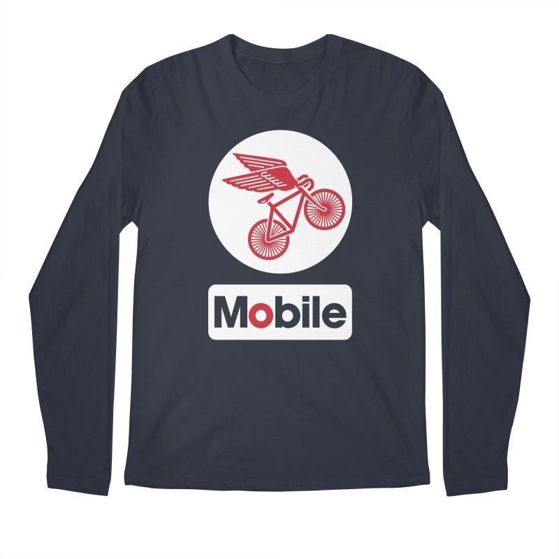 Mobile Men's Longsleeve T-Shirt by Postlopez