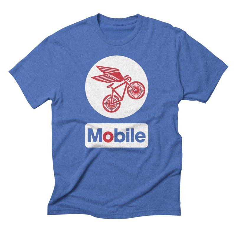 Mobile Men's Triblend T-Shirt by Postlopez