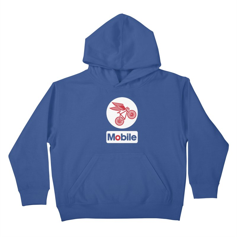 Mobile Kids Pullover Hoody by Postlopez