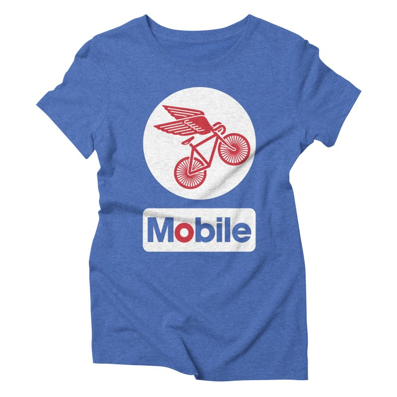 Mobile Women's Triblend T-shirt by Postlopez