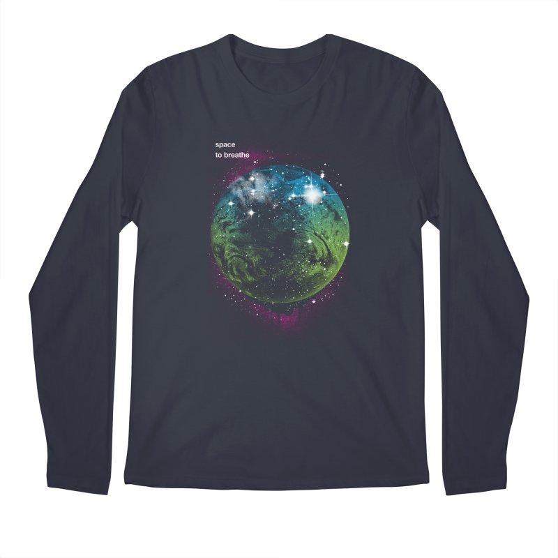 Space to Breathe Men's Longsleeve T-Shirt by Postlopez