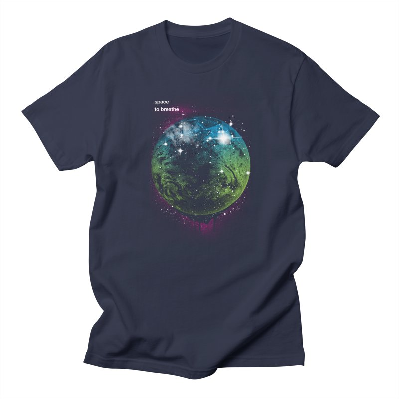 Space to Breathe Men's T-Shirt by Postlopez