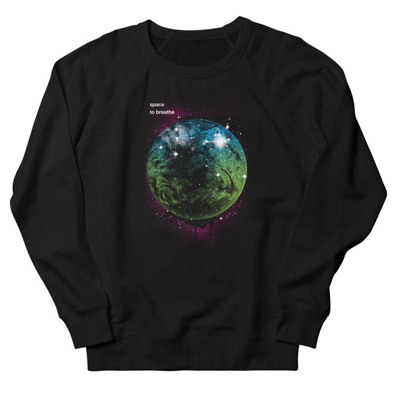 Space to Breathe Men's Sweatshirt by Postlopez