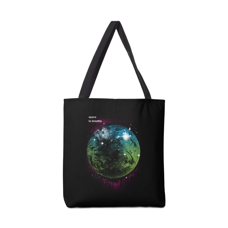 Space to Breathe Accessories Bag by Postlopez