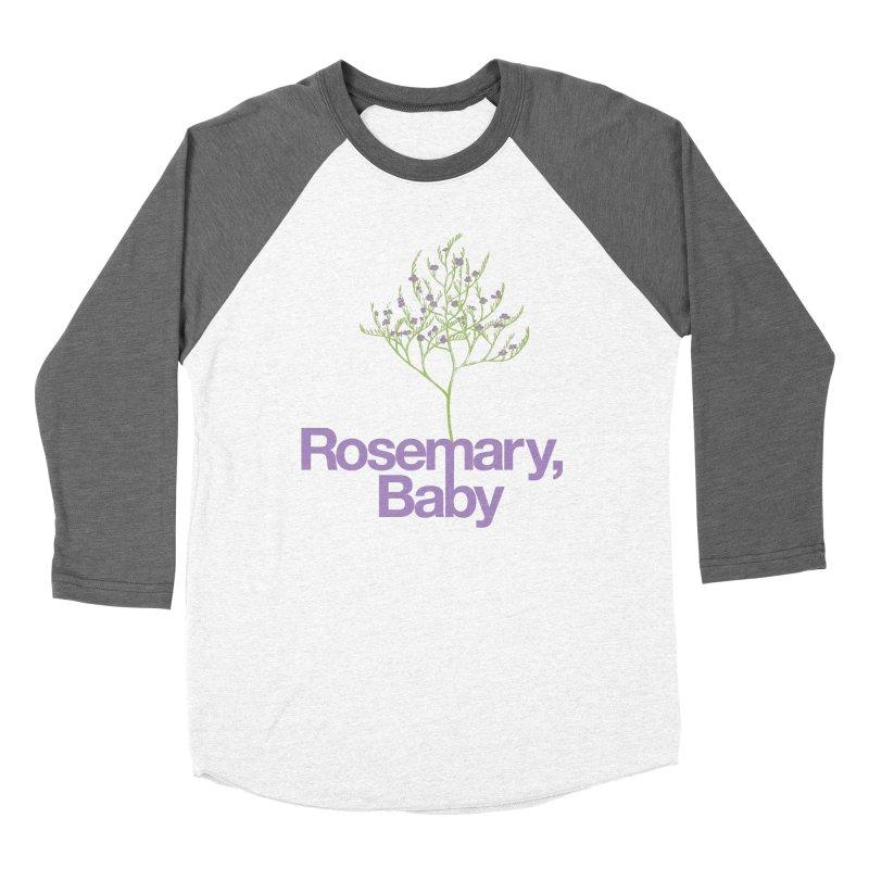Rosemary, Baby Men's Baseball Triblend T-Shirt by Postlopez