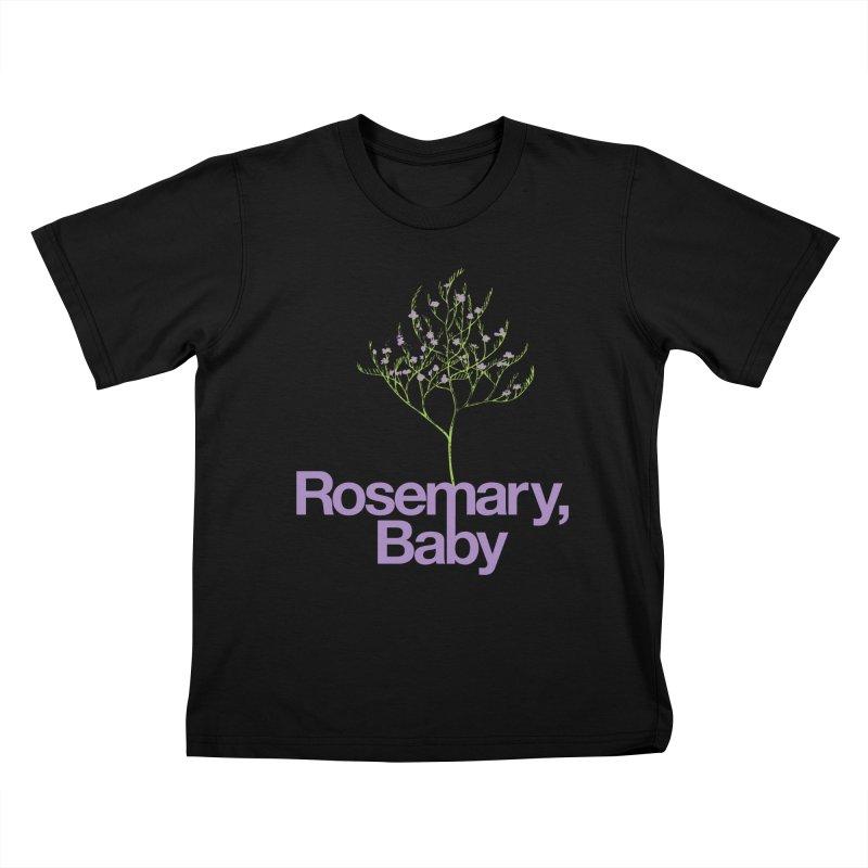 Rosemary, Baby Kids T-shirt by Postlopez