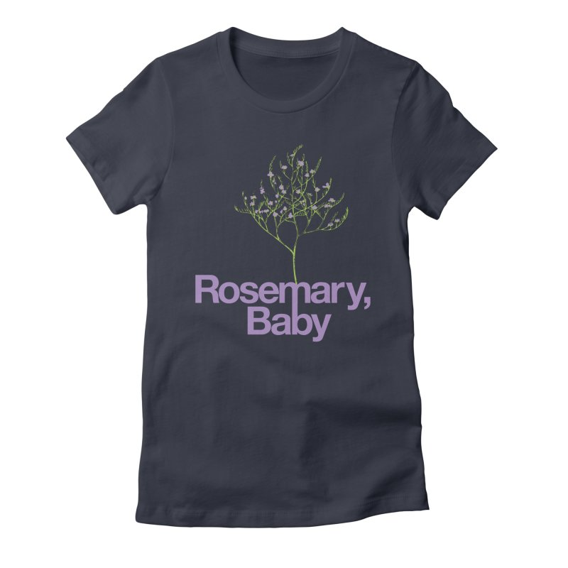 Rosemary, Baby Women's Fitted T-Shirt by Postlopez
