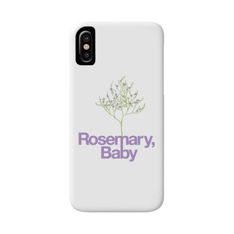 Rosemary, Baby Accessories Phone Case by Postlopez