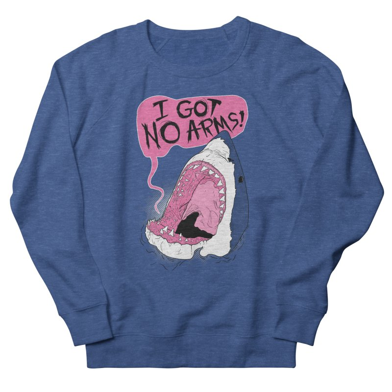 I Got No Arms Men's Sweatshirt by Postlopez