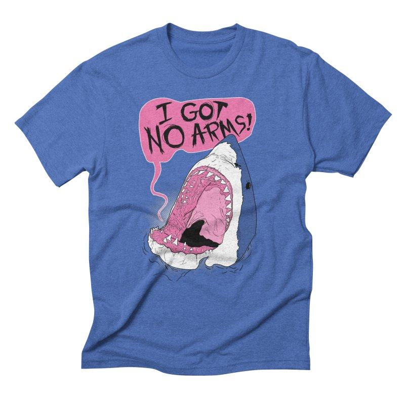 I Got No Arms Men's Triblend T-Shirt by Postlopez