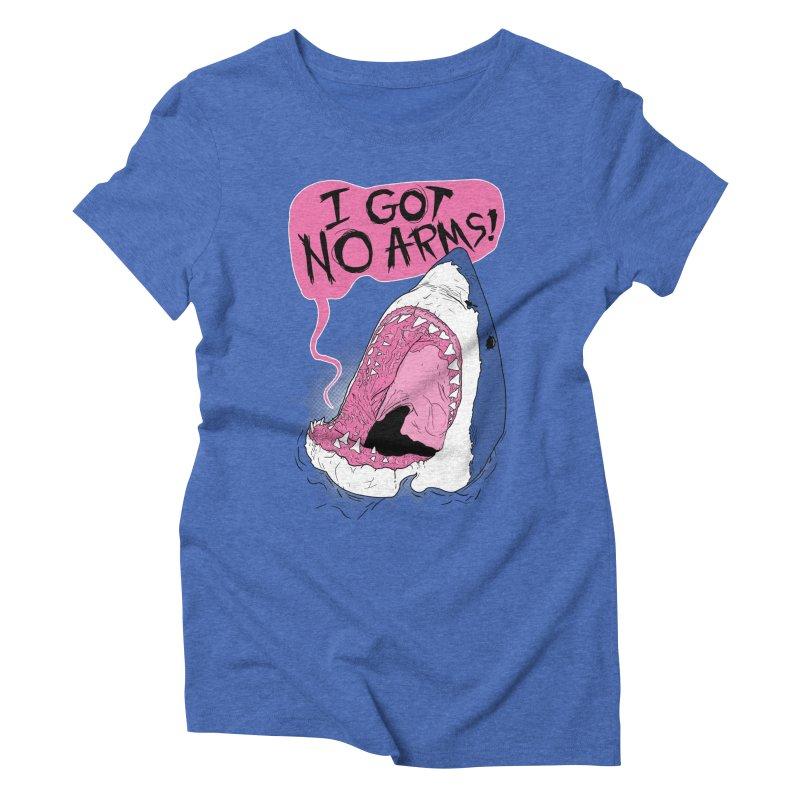 I Got No Arms Women's Triblend T-shirt by Postlopez