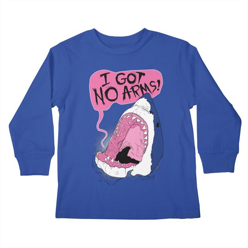 I Got No Arms Kids Longsleeve T-Shirt by Postlopez