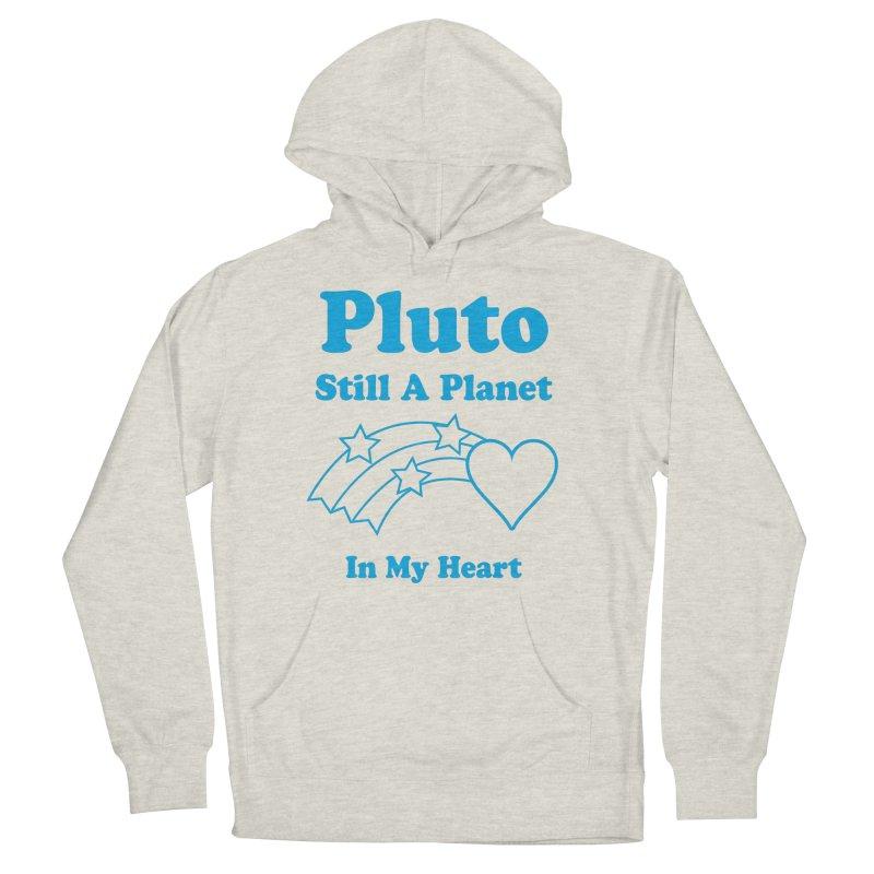 Pluto: Still A Planet in my Heart Men's Pullover Hoody by Postlopez