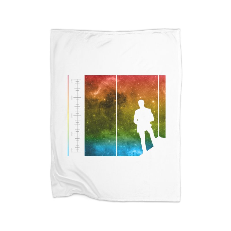 Stand In The Stars Home Blanket by Postlopez