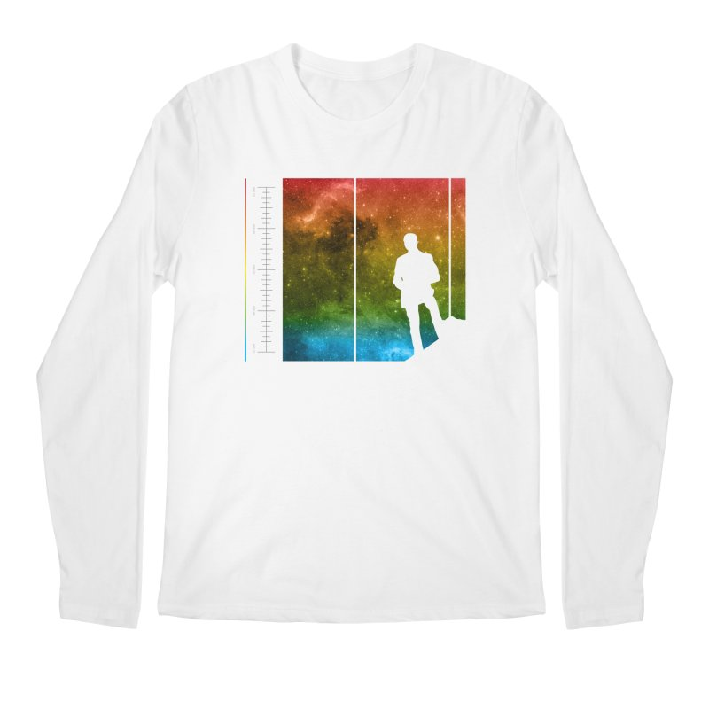 Stand In The Stars Men's Longsleeve T-Shirt by Postlopez