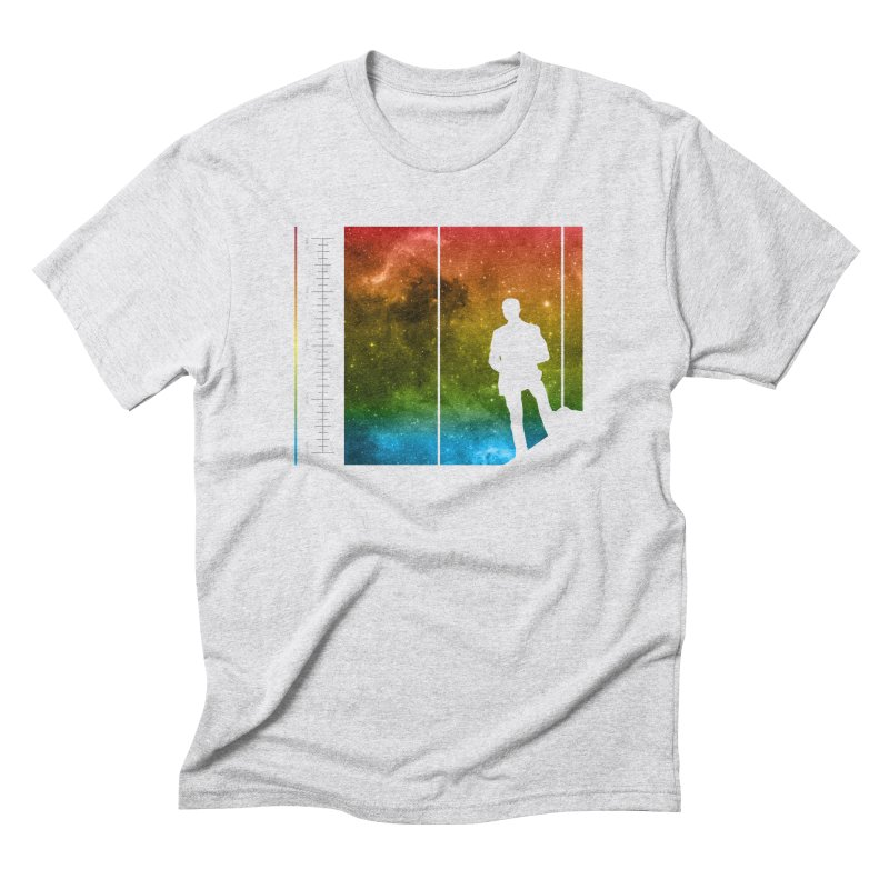 Stand In The Stars Men's Triblend T-shirt by Postlopez