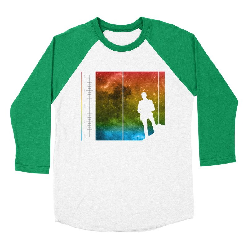 Stand In The Stars Women's Baseball Triblend T-Shirt by Postlopez