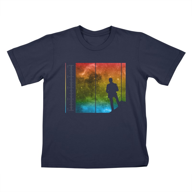 Stand In The Stars Kids T-shirt by Postlopez