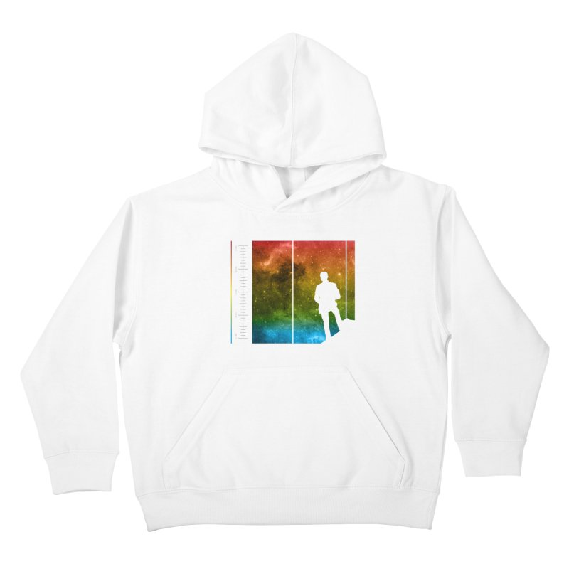 Stand In The Stars Kids Pullover Hoody by Postlopez