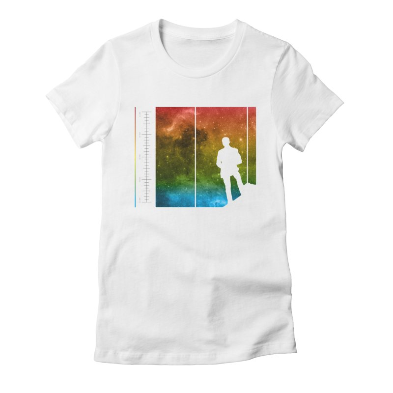 Stand In The Stars Women's T-Shirt by Postlopez