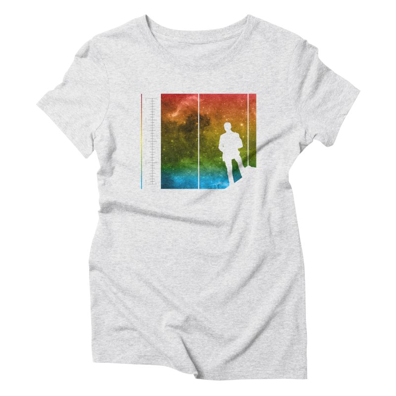 Stand In The Stars Women's Triblend T-shirt by Postlopez