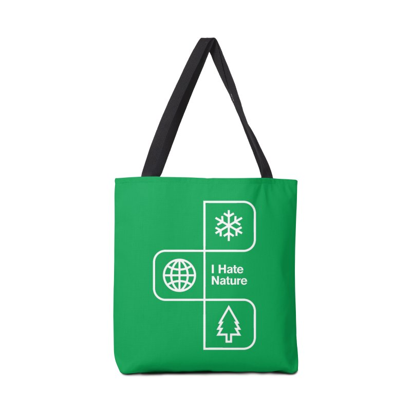 I Hate Nature Accessories Bag by Postlopez