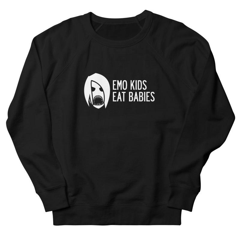 Emo Kids Eat Babies Men's Sweatshirt by Postlopez