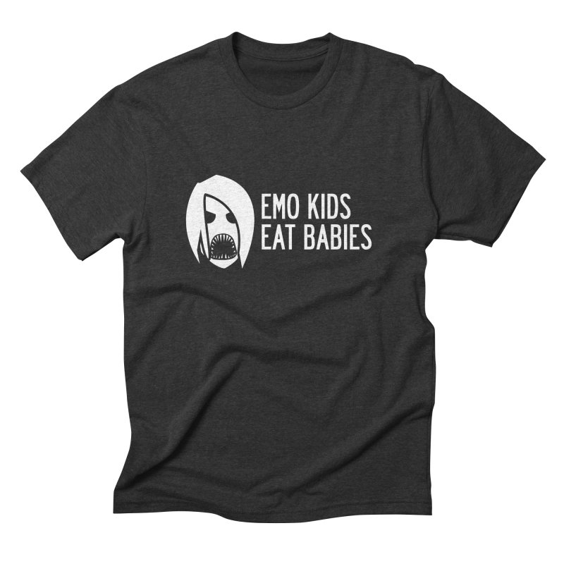 Emo Kids Eat Babies Men's Triblend T-shirt by Postlopez