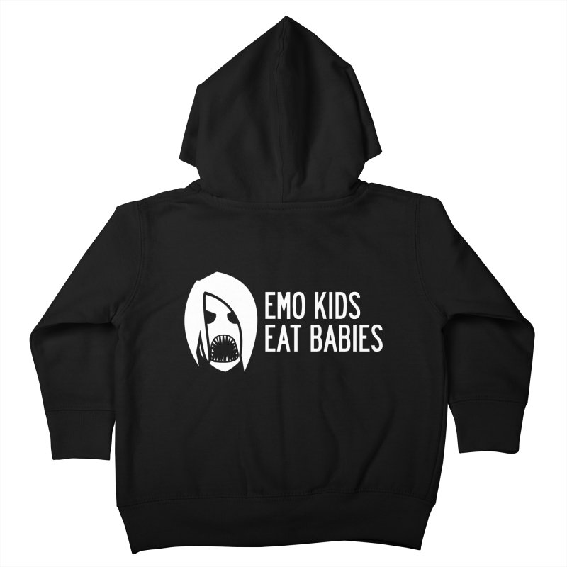Emo Kids Eat Babies Kids Toddler Zip-Up Hoody by Postlopez