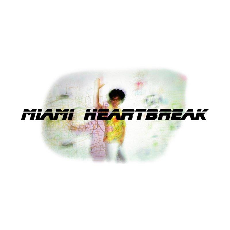 MIAMI HEARTBREAK 2044 Accessories Face Mask by Post Zen