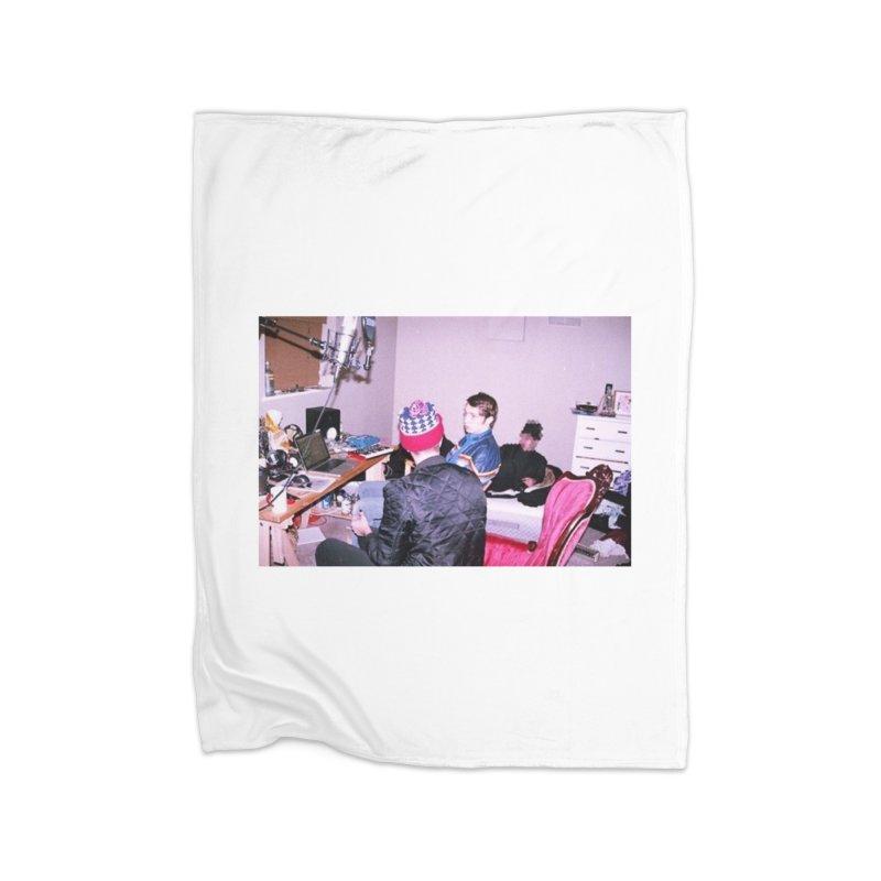 """""""BIG MAYBE"""" Home Fleece Blanket Blanket by Post Zen"""