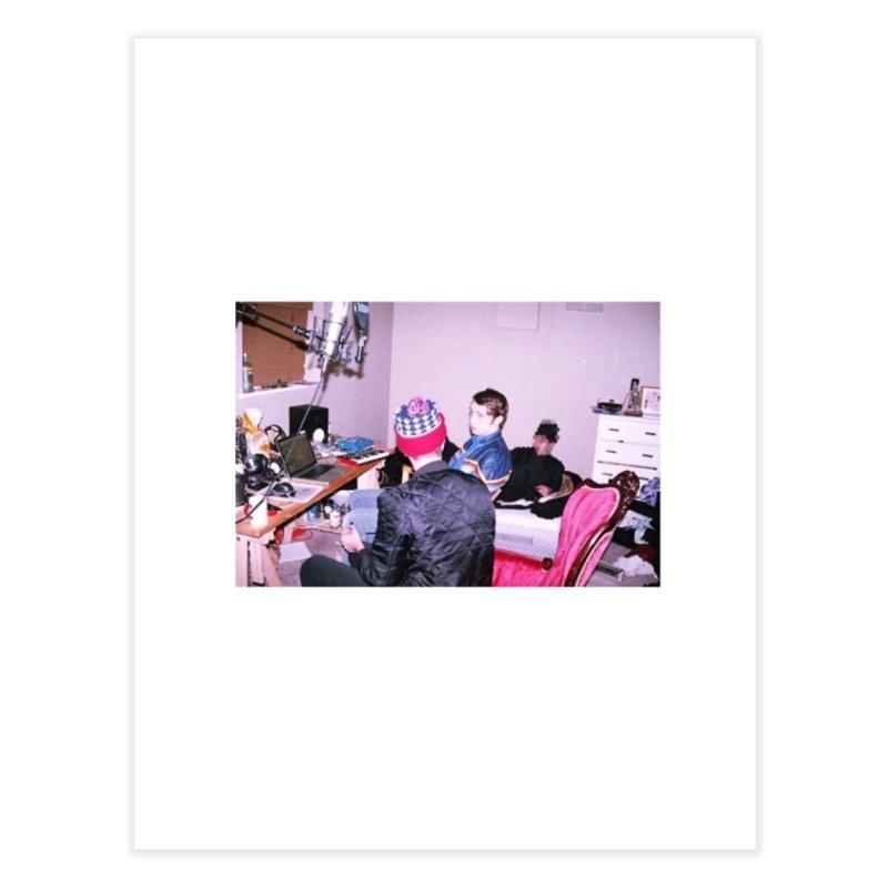 """BIG MAYBE"" Home Fine Art Print by Post Zen"