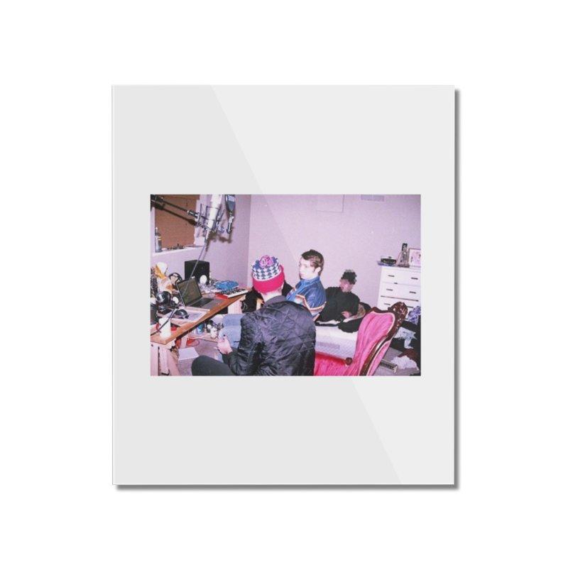 """BIG MAYBE"" Home Mounted Acrylic Print by Post Zen"