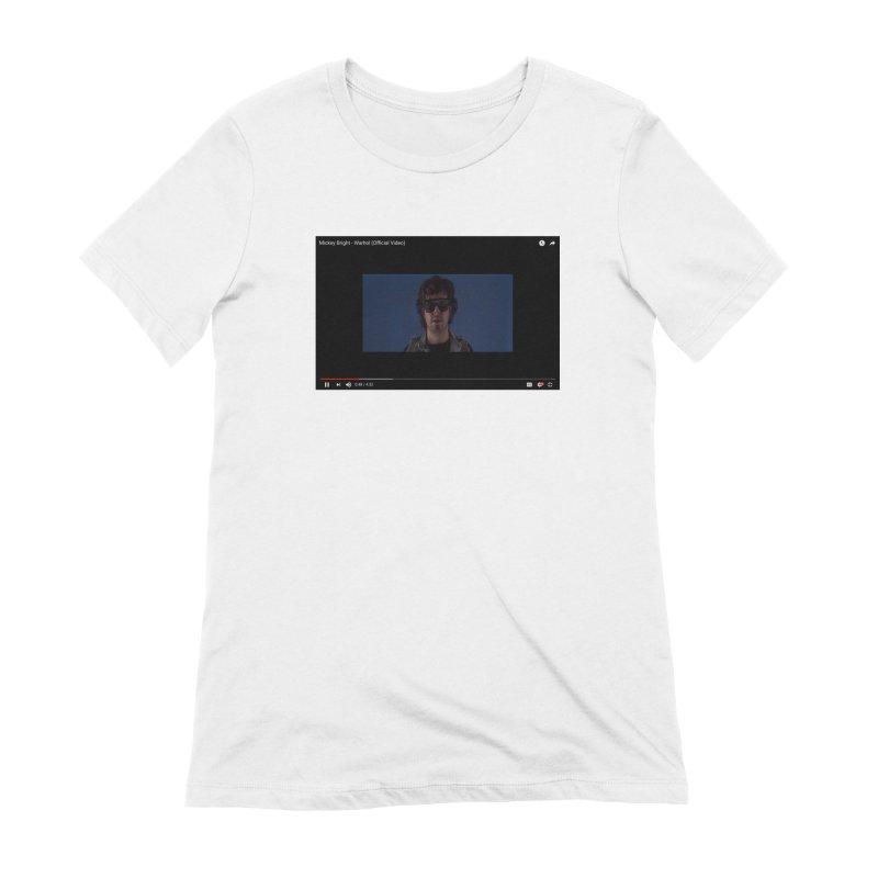 Warhol (BLUE) Women's Extra Soft T-Shirt by Post Zen