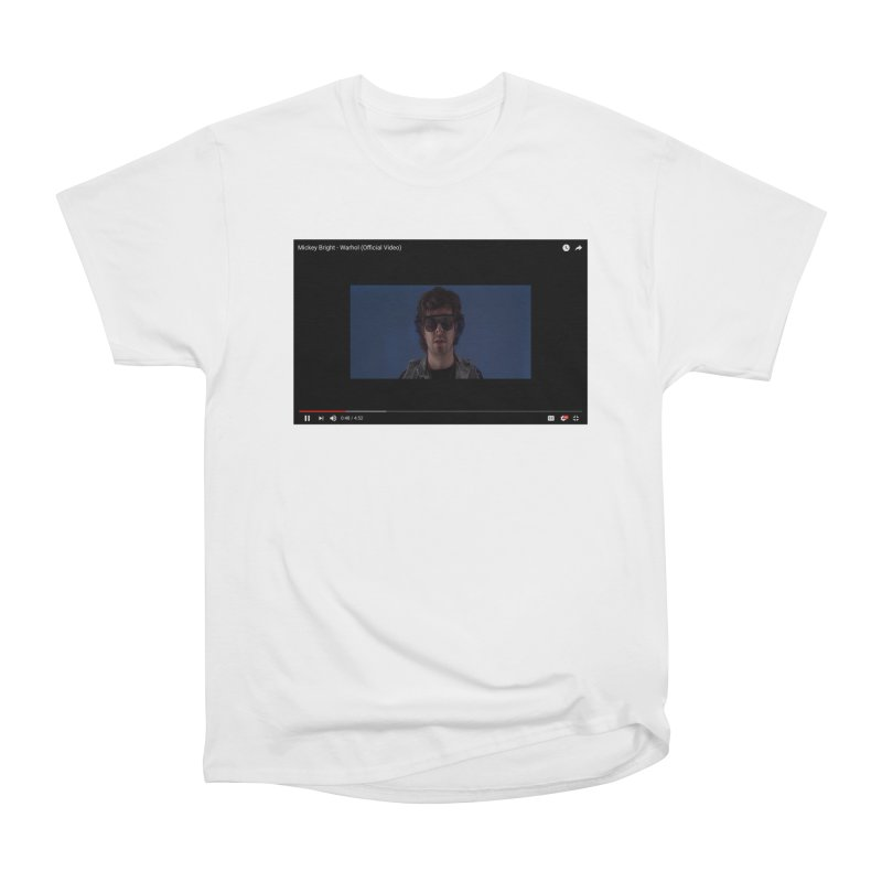 Warhol (BLUE) Women's T-Shirt by Post Zen