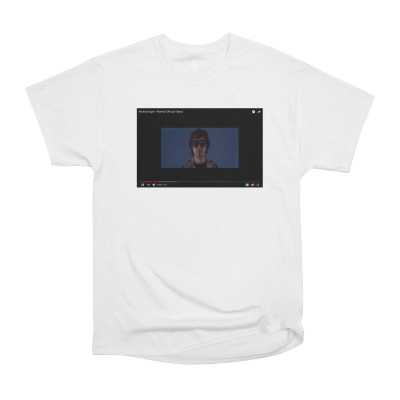 Warhol (BLUE) Women's Heavyweight Unisex T-Shirt by Post Zen