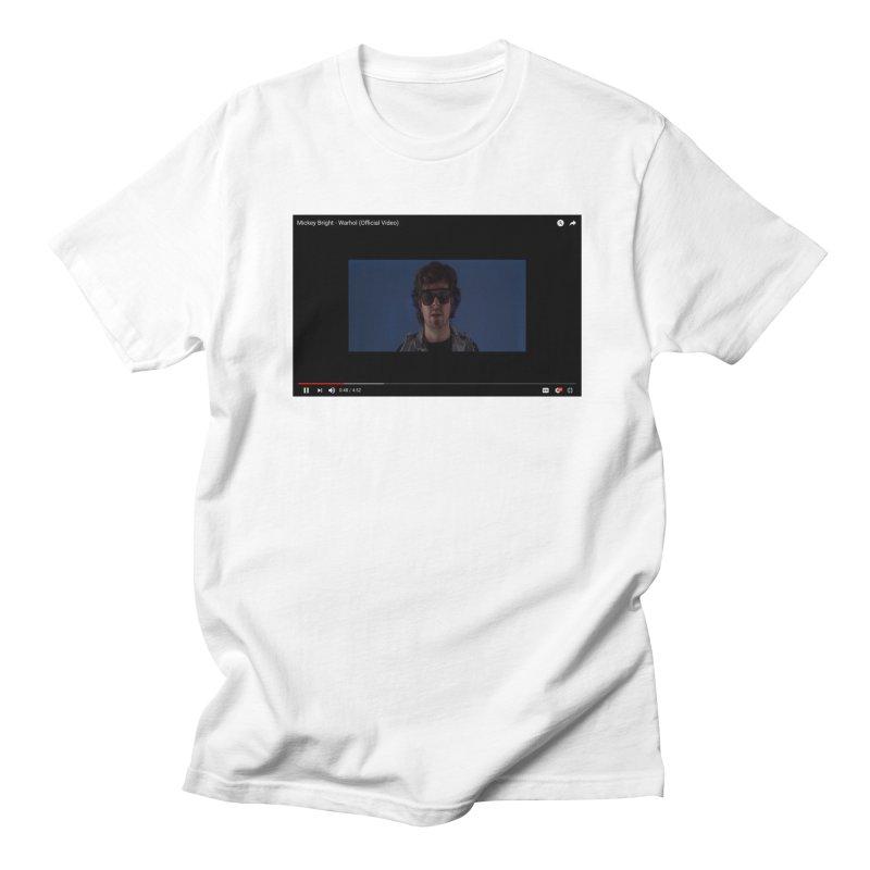 Warhol (BLUE) Men's T-Shirt by Post Zen