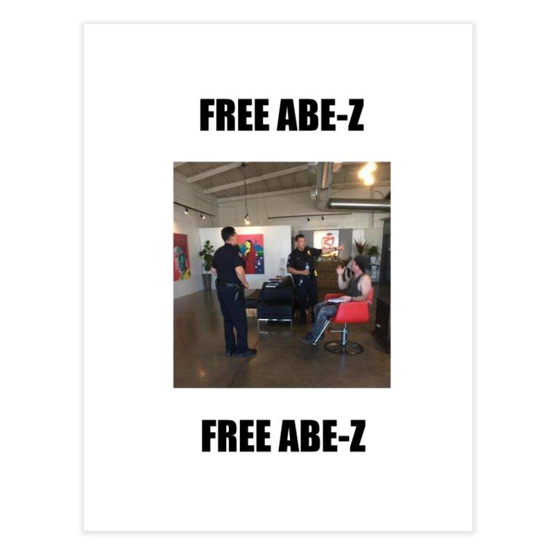 FREE ABE-Z Home Fine Art Print by Post Zen